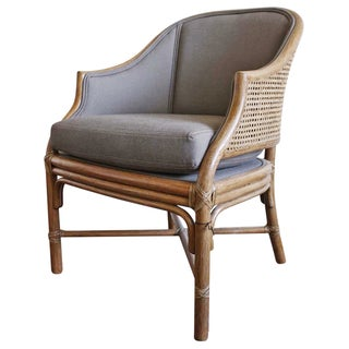 McGuire Toboggan Arm Chair