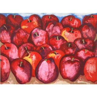 Richard C. Karwoski - Fall Apples Lithograph