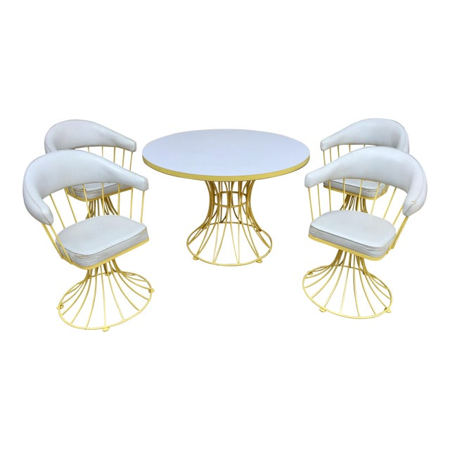 Vintage Mid-Century Modern Dining Set - Image 1 of 9