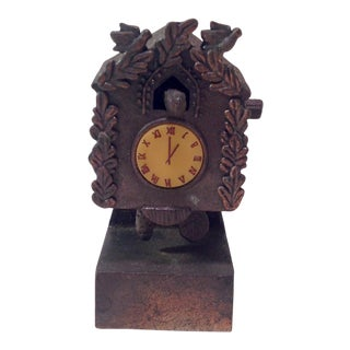 Vintage Cuckoo Clock Pencil Sharpener