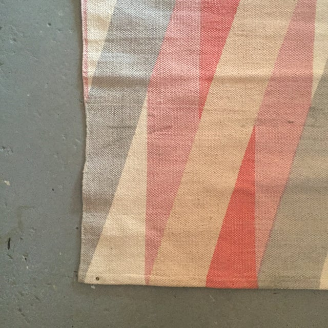 "Color Block Screen Print Rug - 3'1"" X 2' - Image 3 of 5"