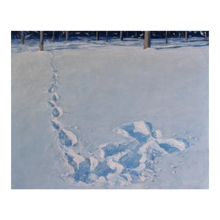 "Stephen Remick ""Snow Angel"" Painting"