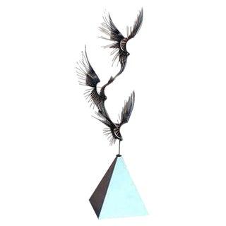 C. Jere Birds in Flight Metal Sculpture