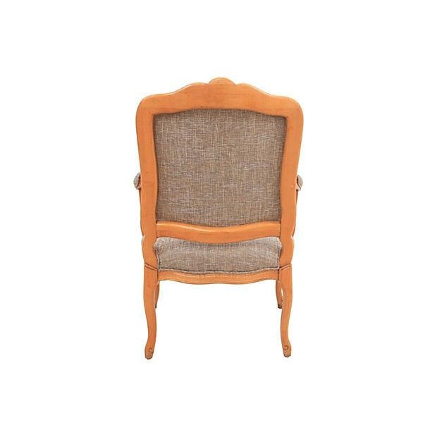 Louis XV-Style Granite Fauteuil - Image 4 of 7
