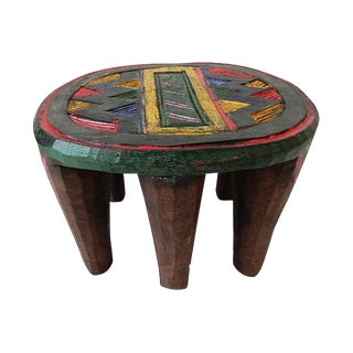 African Nupe Low Milk Stool