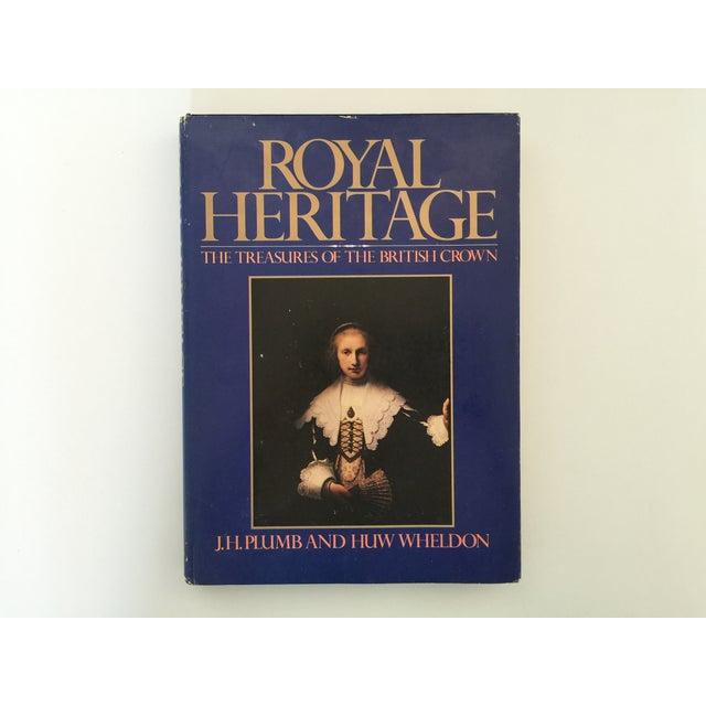 Image of Royal Heritage Book by J.H. Plumb