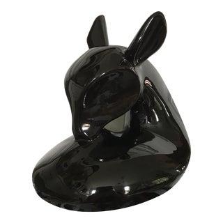 Vintage Modern Deer Sculpture