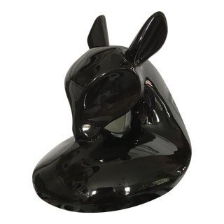 Vintage Modern Deer Sculpture