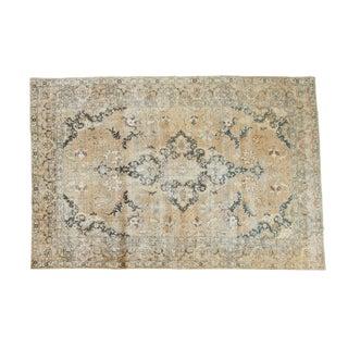 """Persian Distressed Tabriz Carpet - 7'11"""" X 11'9"""""""