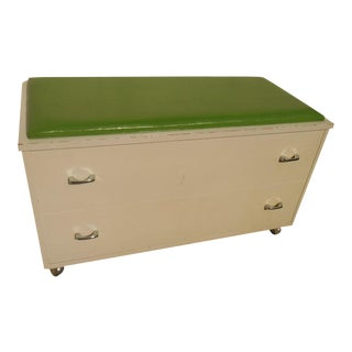 Shabby Chic Wood Storage Trunk/Chest