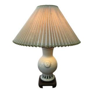Glazed Ceramic Sun Lamp