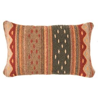 Red Wool Oaxacan Pillow