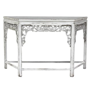 Sarreid Ltd. Carved Console Table
