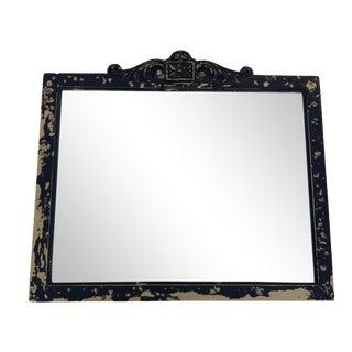 Antique Black Wall Mirror