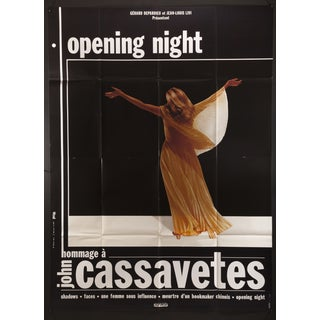 "French John Cassavetes ""Opening Night"" Poster"