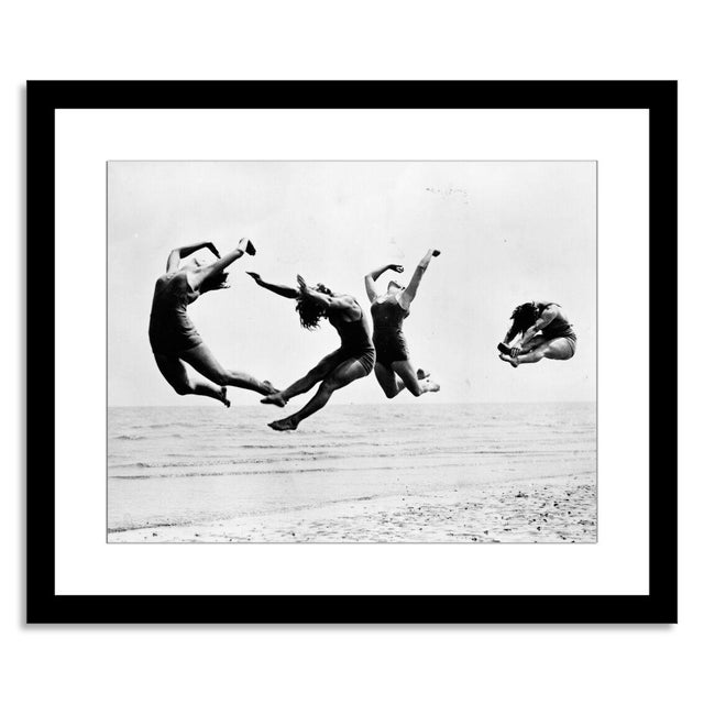 "Image of ""Beach Exercise,"" Photograph by Reg Speller"