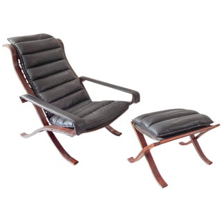 Ingmar Relling Siesta Chair and Ottoman