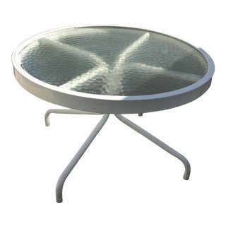 Mid-Century Outdoor Low Table