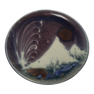 Glenwood Springs Ceramic Studio Pottery Plate