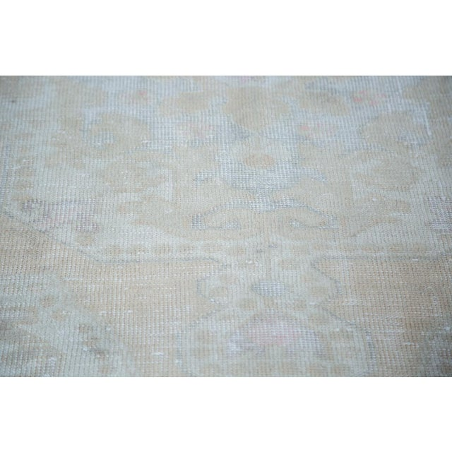 "Distressed Oushak Rug - 4'4"" X 7'1"" - Image 10 of 10"