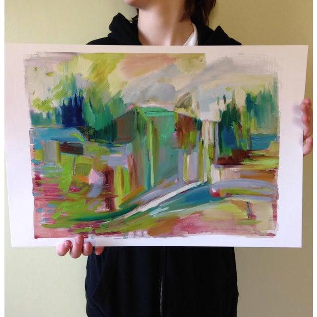 Jenny Vorwaller Snoqualmie Falls Print - Image 2 of 3