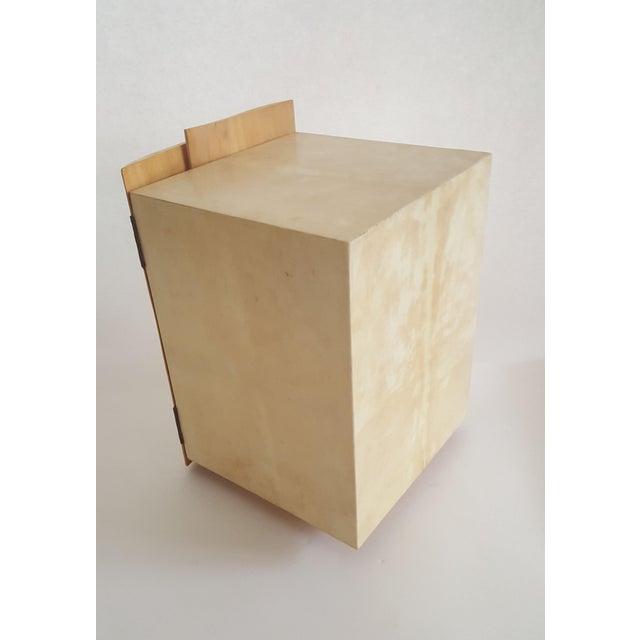 R & Y Augousti Wood & Shagreen Jewelry Box - Image 7 of 9