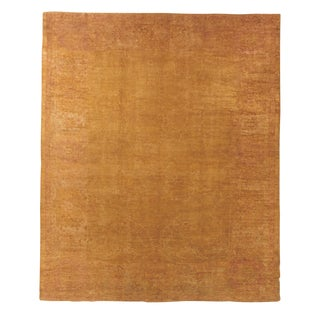 "Antique Oushak Carpet - 14'10"" x 12'4"""