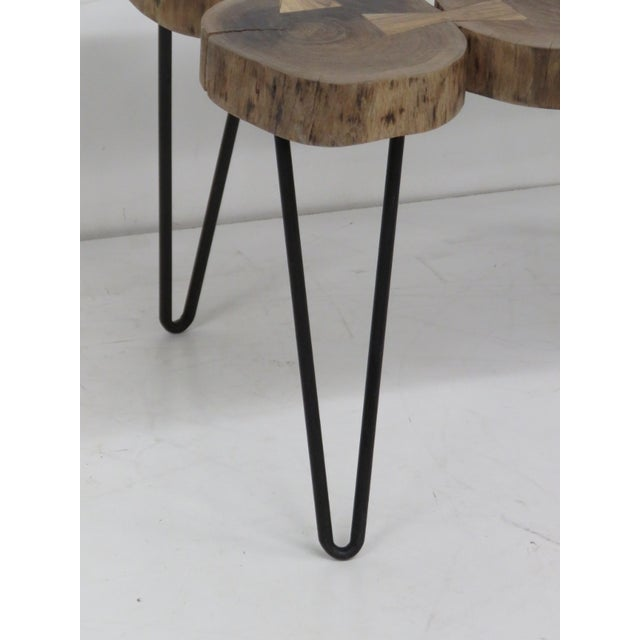 Cut Trunk Slab Coffee Table - Image 2 of 4