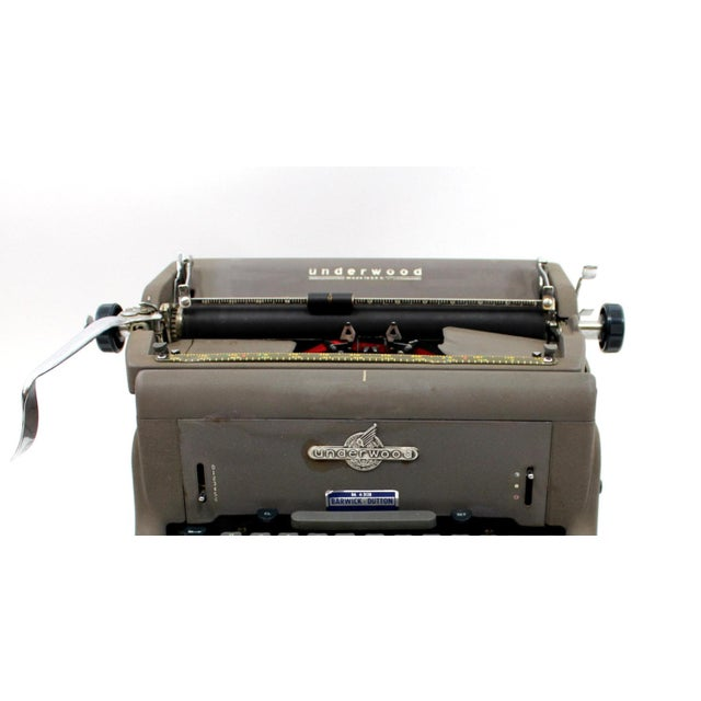 1950s Underwood 150 Typewriter With Cover