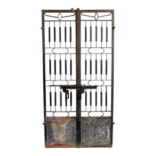 Vintage Indian Iron Gate