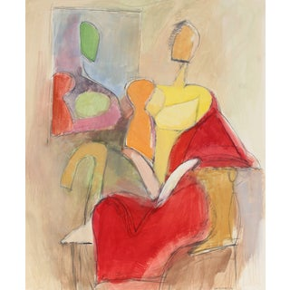 Seated Figures by G. Wasserman