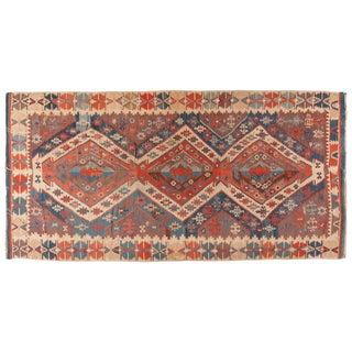 Antique Mid-19th Century Turkish Kilim