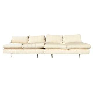 Mid Century Two Part Sofa