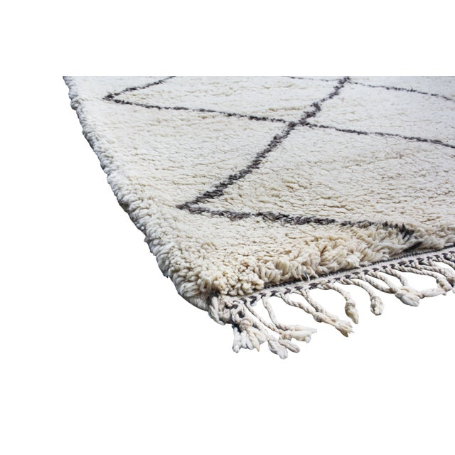 Image of Moroccan Beni Ourain Rug - 13' X 8'1''