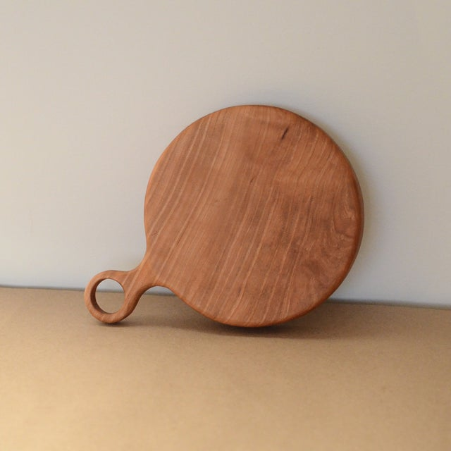 Image of Small Cherry Board with Walnut Bowtie