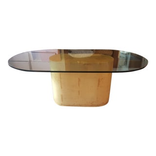 Karl Springer Goat Skin Dining Table