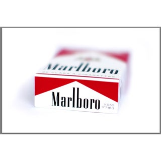 """Marlboro on Its Back"" Photography"