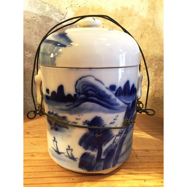 Chinese Food Container with Lid - Image 2 of 6