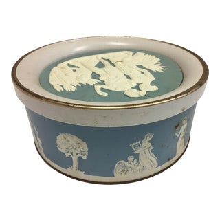 Wedgewood Style Fruit Cake Tin