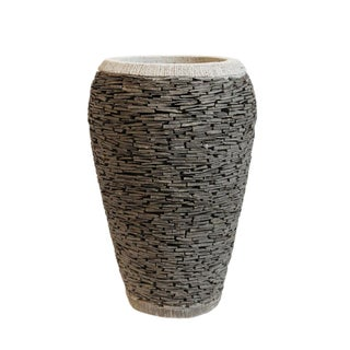 Slate Stacked Pot