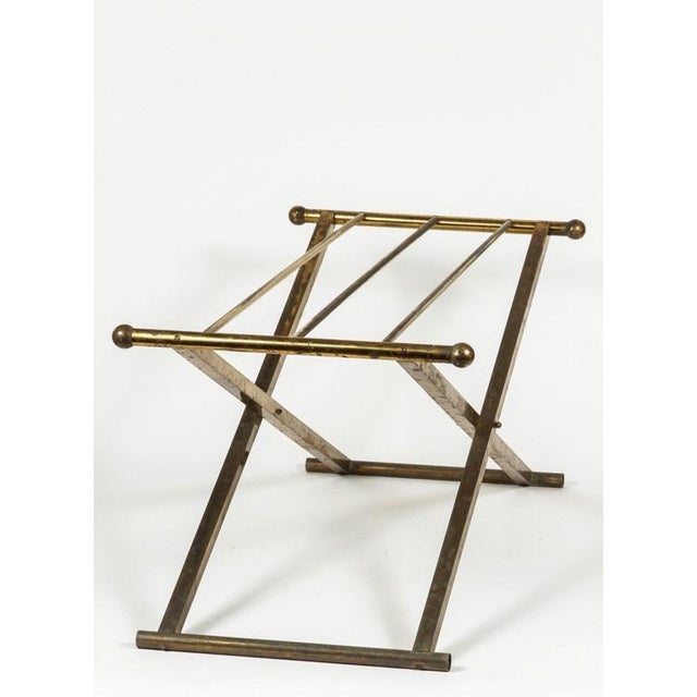 Brass & Glass Tray Coffee Table - Image 8 of 8