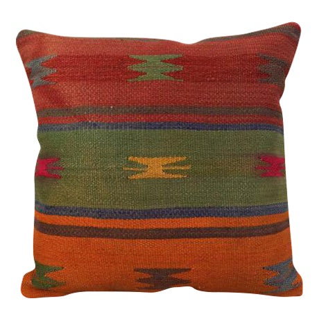 Turkish Kilim Pillow Cover - Image 1 of 5