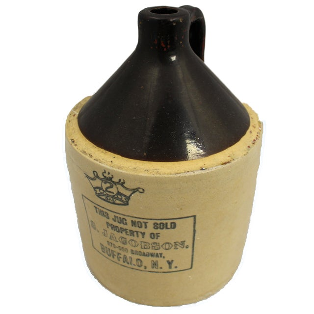 Country Chic Ceramic Jacobson Whiskey Jug - Image 1 of 4