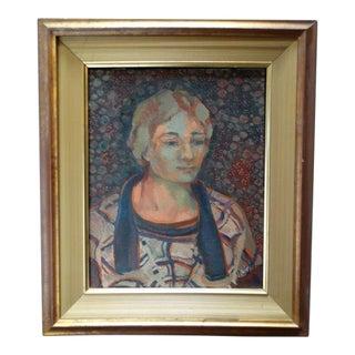 Anders Aldrin Portrait of a Woman, 1928