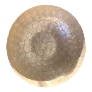 Very Large Mother of Pearl Bowl
