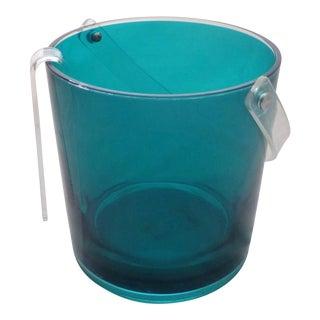 Mikasa Lucite Ice Bucket & Tongs