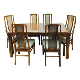 Drexel Heritage Mid-Century Dining Set - Set of 7