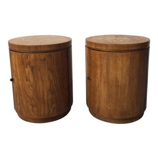 Drexel Heritage Consensus Barrel Tables - A Pair