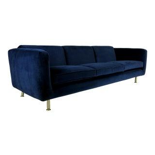 Sleek Three Seat Sofa by Rodolfo Dordoni for Minotti