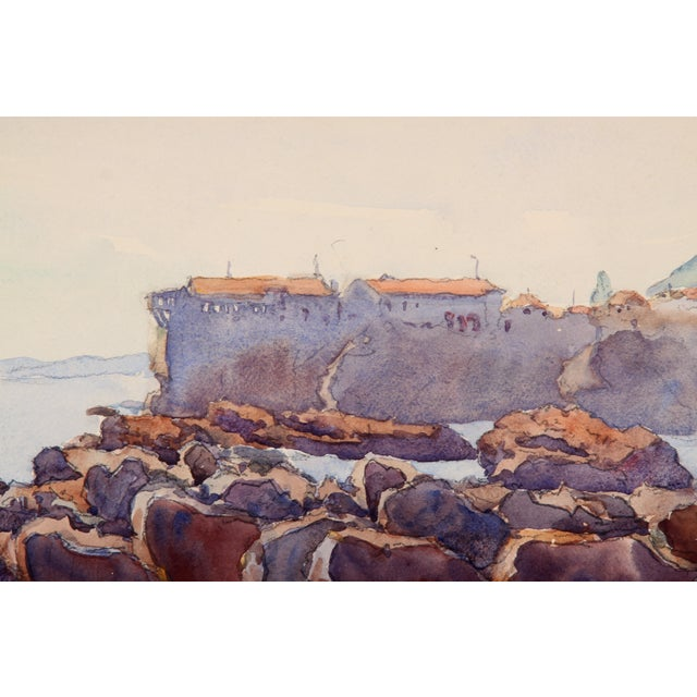 Image of Monory The Coast of France Painting